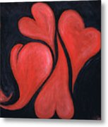 Beating Hearts  Metal Print