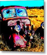 Beatle Juice Metal Print by Kurt Gustafson