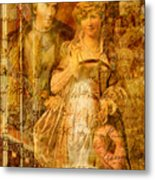 Beatrice And Benedick Metal Print
