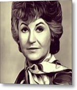 Beatrice Arthur, Vintage Actress Metal Print