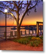 Beaufort Waterfront Metal Print