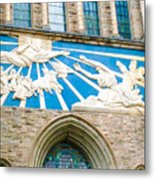 Beauiful Church Design In New York City Metal Print