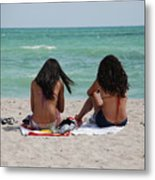 Beauties On The Beach Metal Print