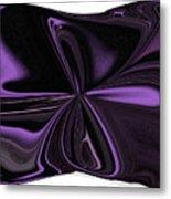 Beautiful Abstract Throw Pillow Metal Print