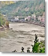 Beautiful Afternoon On The Ganges Metal Print