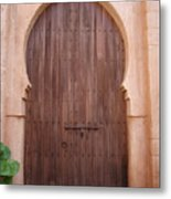 Beautiful Arched Doors Metal Print