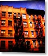Beautiful Architecture Of New York - Ship Of State Metal Print