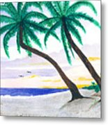 Beautiful Beaches Of Sw Florida Metal Print