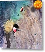Beautiful Birds Metal Print
