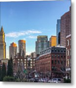 Beautiful Boston Metal Print