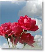 Beautiful Bouquet Of Roses Metal Print