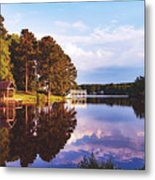 Beautiful Bunn Lake - Zebulon, North Carolina Metal Print