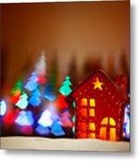 Beautiful Christmas Decor Metal Print