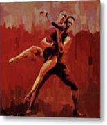 Beautiful Couple Dance 02 Metal Print