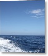Beautiful Day On The Atlantic Ocean Metal Print