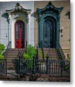 Beautiful Doors On Bull Street Metal Print