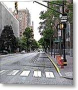 Beautiful Downtown Hoboken  Metal Print