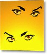 Beautiful Eyes Metal Print