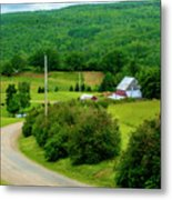 Beautiful Farm In Windsor Forks Metal Print