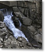 Beautiful Flow Of Power Metal Print