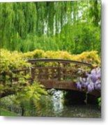 Beautiful Garden Art Metal Print by Boon Mee