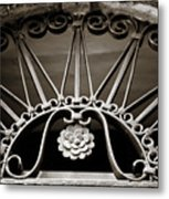 Beautiful Italian Metal Scroll Work 2 Metal Print