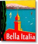 Beautiful Italy, Lake Garda, Riviera Metal Print
