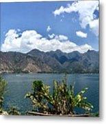 Beautiful Lake Atitlan Metal Print