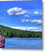 Beautiful Luby Bay On Priest Lake Metal Print