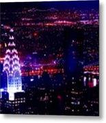 Beautiful Manhattan Skyline Metal Print