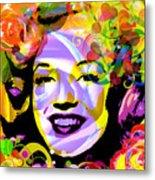 Beautiful Marilyn Monroe Metal Print