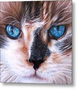 Beautiful Mia Metal Print