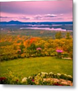 Beautiful Overview Of New Hampshire Metal Print