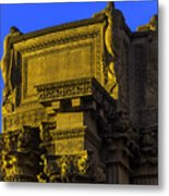 Beautiful Palace Of Fine Arts Metal Print