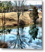 Beautiful Reflection 2 Metal Print