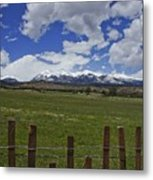 Beautiful Rocky Mountains Metal Print