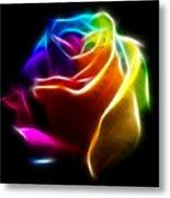 Beautiful Rose Of Colors No2 Metal Print by Pamela Johnson