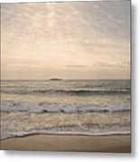 Beautiful Sand Beach Metal Print