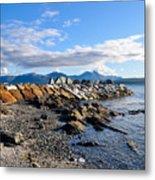 Beautiful Sea View Metal Print