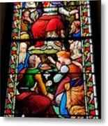 Beautiful Stained Glass At Emmanuel Church Baltimore # 5 Metal Print