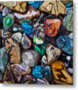 Beautiful Stones Metal Print