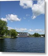 Beautiful Summerday At Lake Winnipesaukee Metal Print