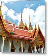 Beautiful Temple Metal Print by Somchai Suppalertporn