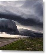 Beautiful Texas Storm Metal Print