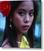 Beautiful Thai Girl Metal Print