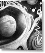 Beautiful Universe. Space Art Metal Print
