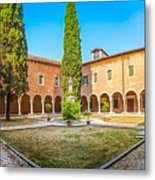 Beautiful Venetian Patio Metal Print