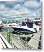 Beautiful View On The Elizabeth 7 Metal Print by Lanjee Chee