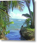 Beautiful Waters Of Puerto Rico Metal Print