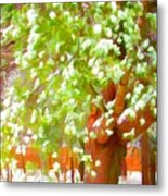 Beautiful Winter Tree Metal Print